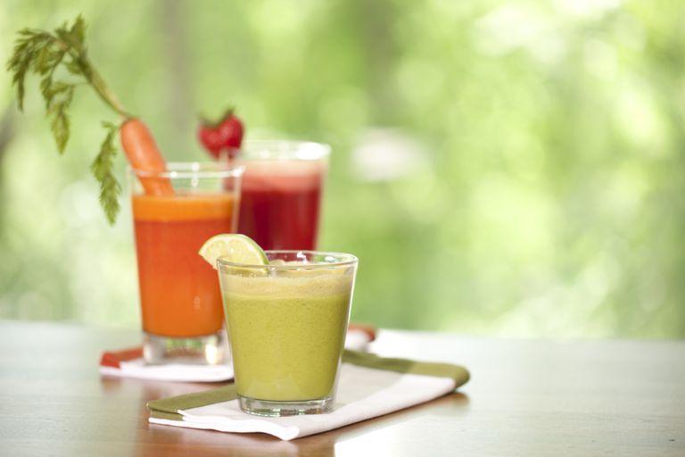 Recetas de jugos depurativos