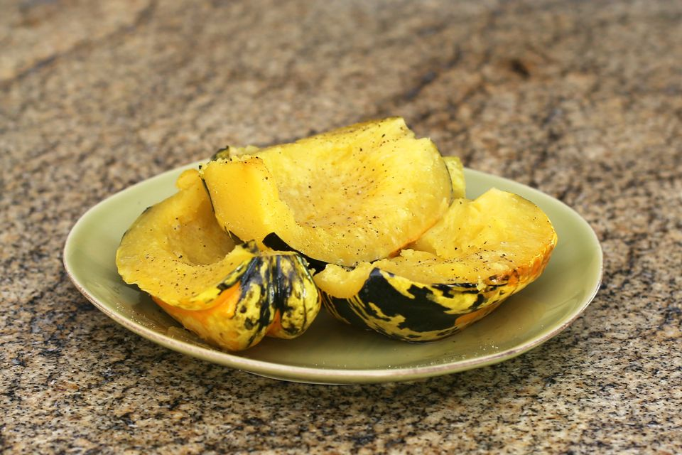 Simple Slow Cooker Carnival Squash