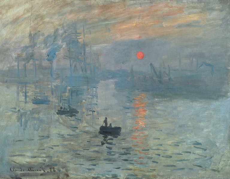 Claude Monet, Impresión Sol Naciente