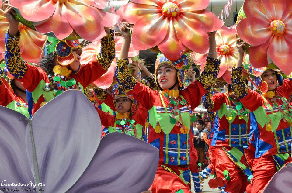 Kadayawan dancers in Davao City, Philippines