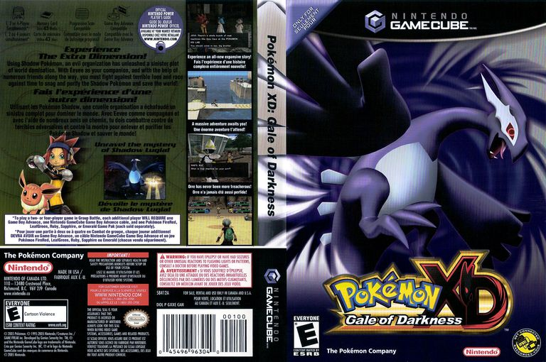 POkemon Gale of Darkness