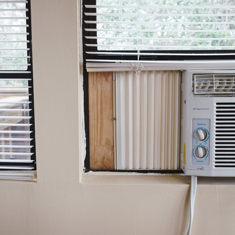 Fixes For Window Mounted Room Air Conditioners