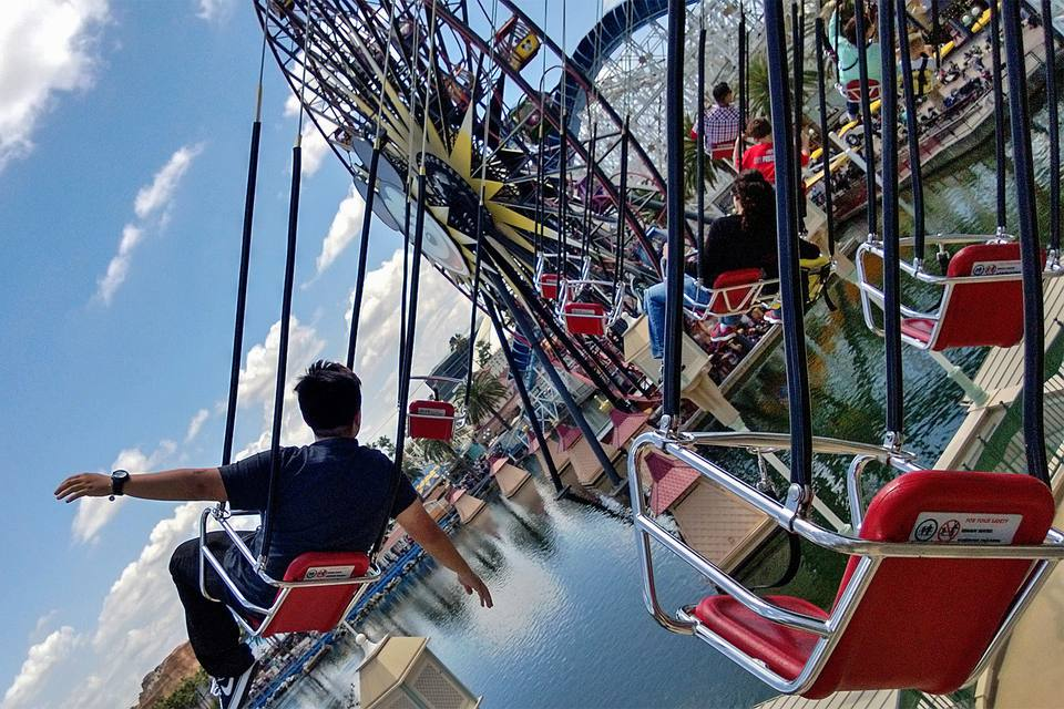 Silly Symphony Swings at California Adventure