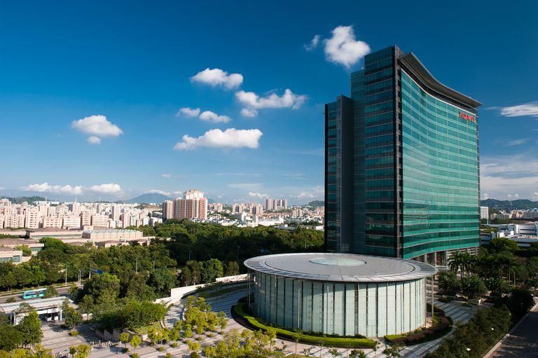 Huawei's R&D Center at the Shenzhen campus