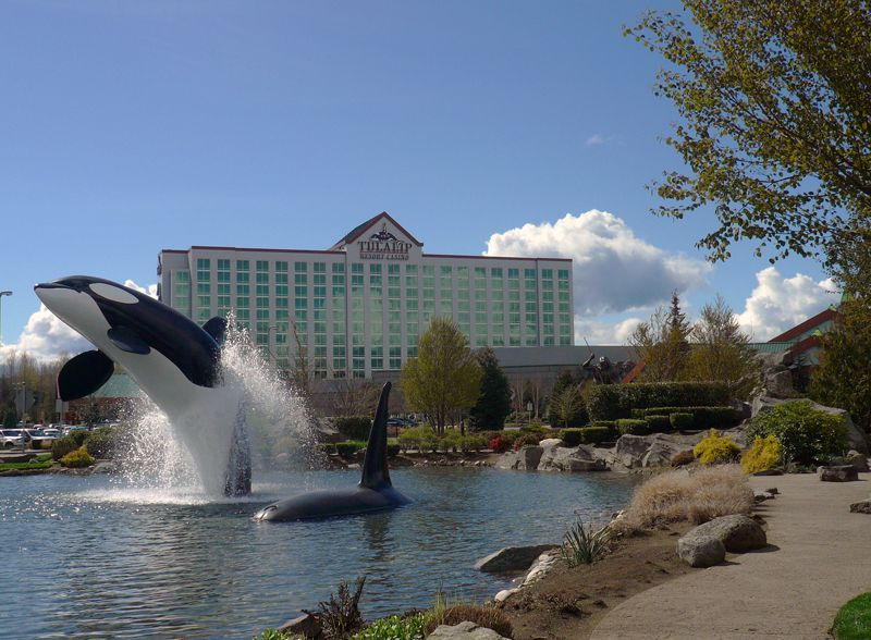 The Tulalip Resort Casino in Washington state is a fun-filled destination that offers a luxurious hotel, fine and casual dining, entertainment, gambling, shopping, a full-service spa, and meeting facilities.