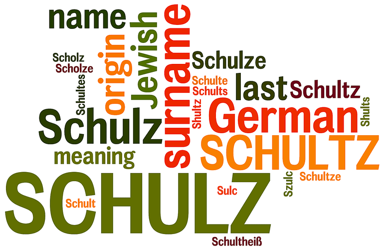 Schulz last name origin and meaning