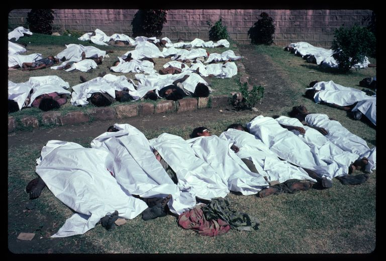 Victims of the 1984 Bhopal, India Poisonous Gas Leak