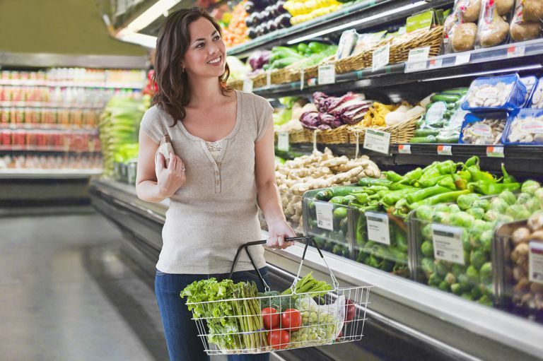 You can save money and still buy healthy foods.