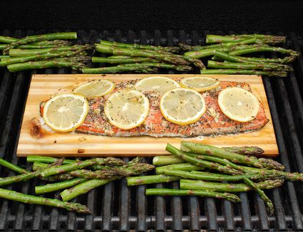 how to cook smoked salmon on the grill