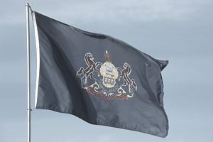 Pennsylvania flag - Fotosearch - GettyImages-124284142