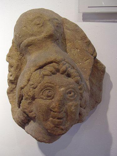 La diosa romana Minerva en Corbirdge