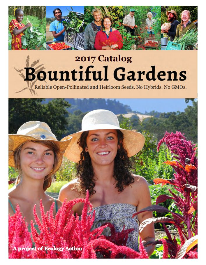 Free Seed Catalog From Bountiful Gardens