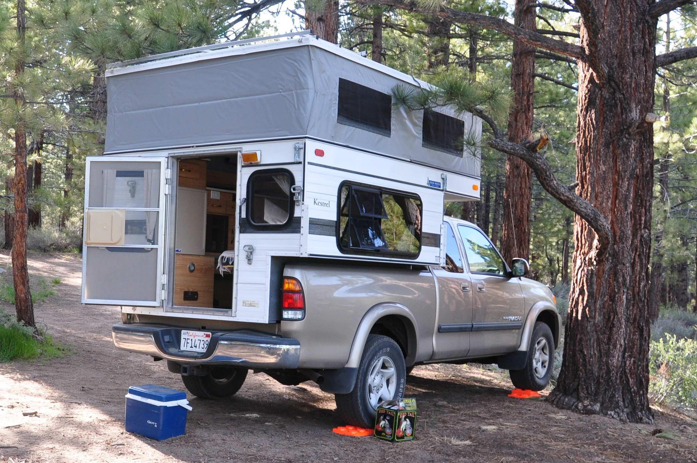 four wheel camper review hawk or kestrel model. Black Bedroom Furniture Sets. Home Design Ideas