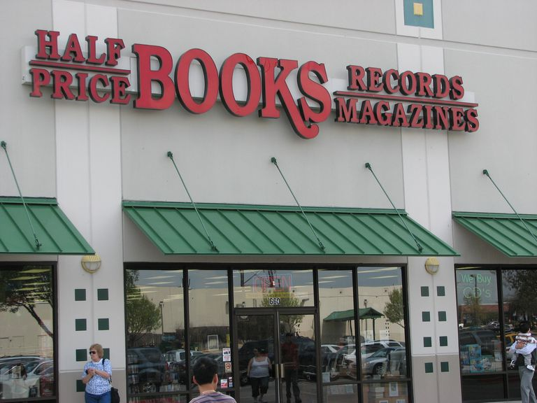 A Half Price Books storefront