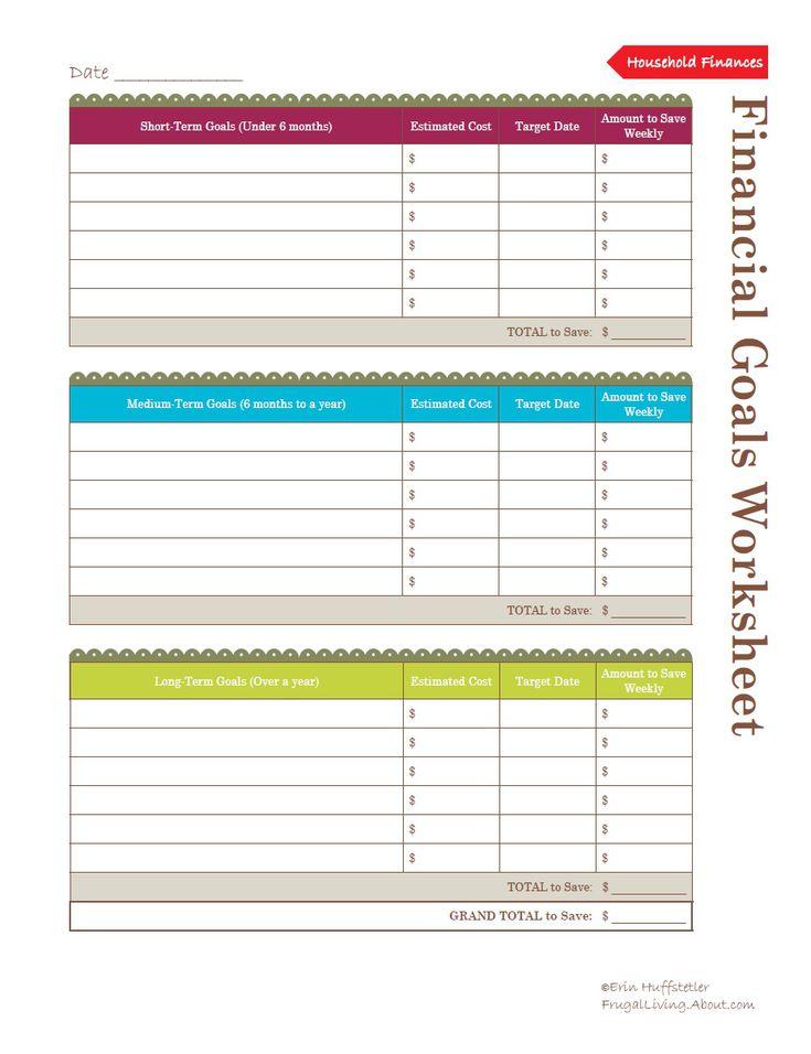 weekly finance planner