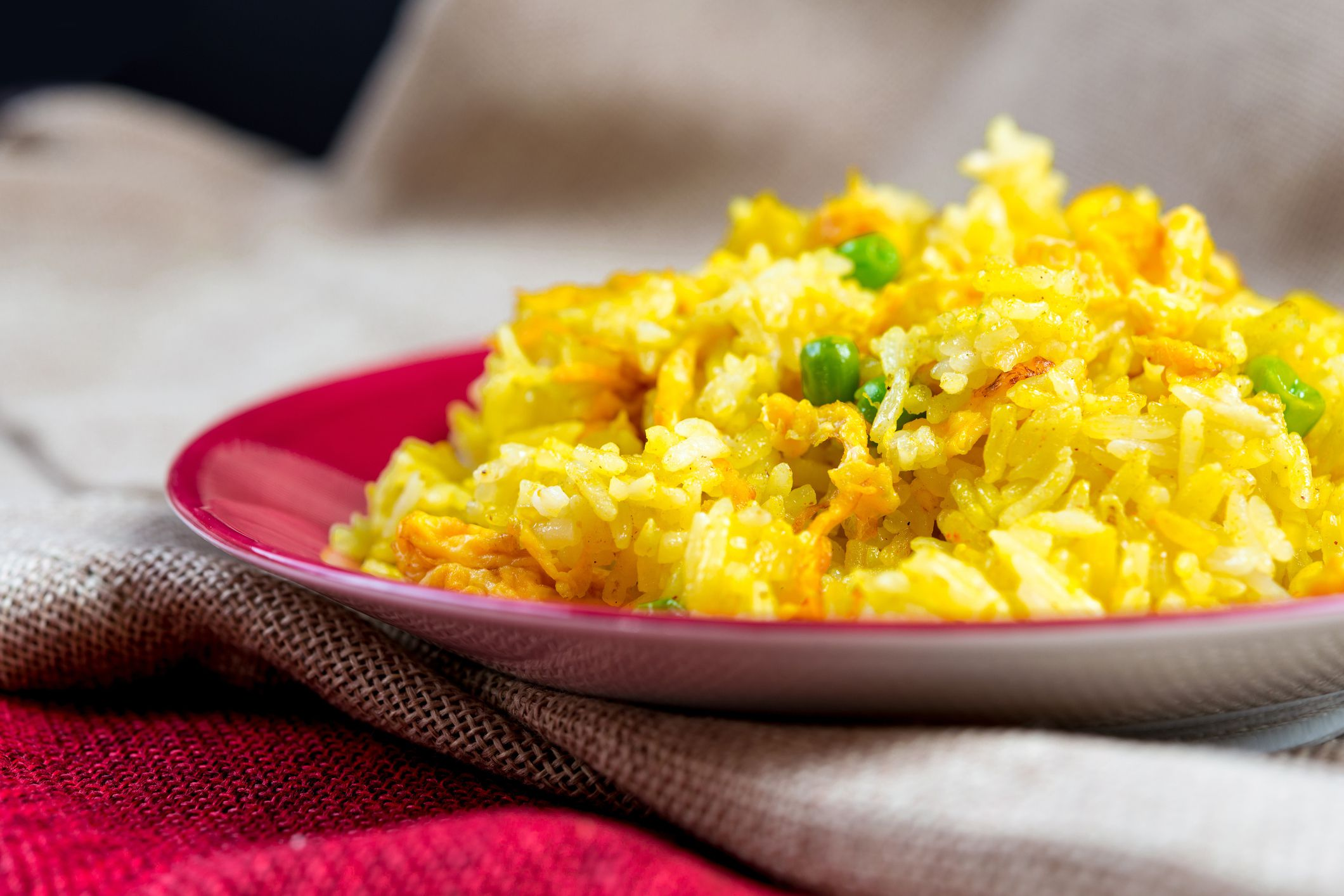 Thai Yellow Fried Rice With Shrimp Recipe