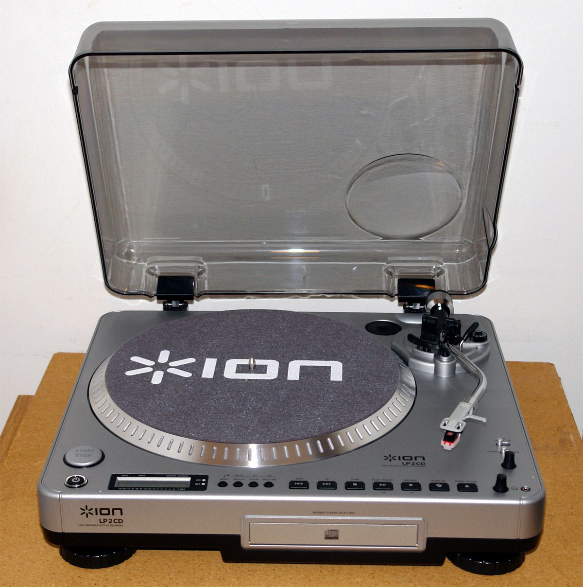 Ion Audio Lp2cd Usb Turntable Cd Recorder Review