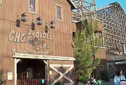 Ghost Rider coaster picture Knott's