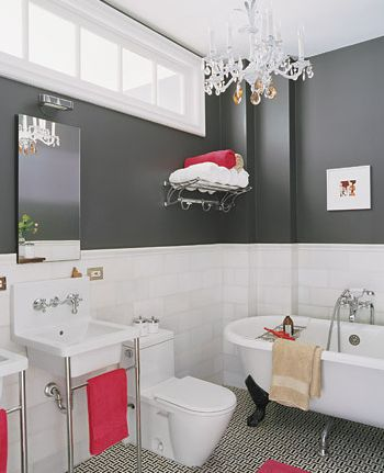 Small bathroom ideas to ignite your remodel for Martha stewart bathroom designs