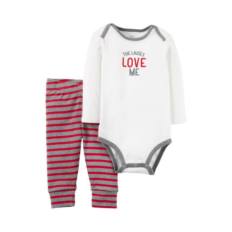 20 Sweet Valentine\'s Day Outfits for Babies
