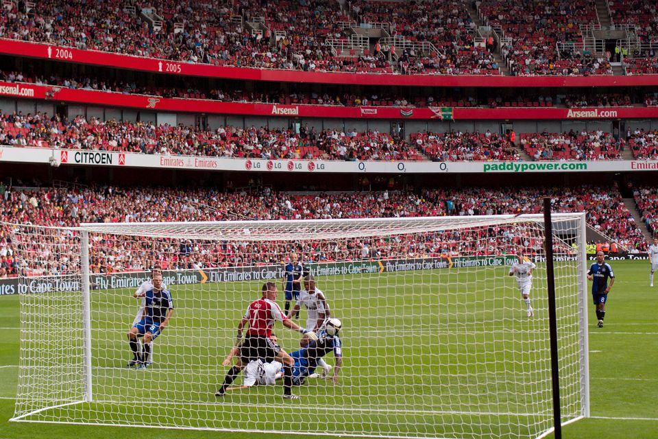 Santiago Bernabeu, the Real Madrid stadium