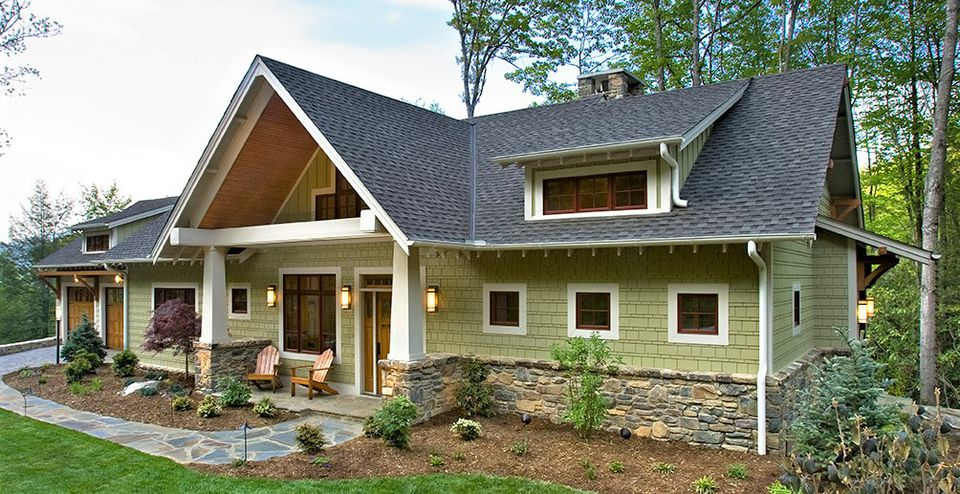 10 inspiring exterior house paint color ideas for Green ideas for houses