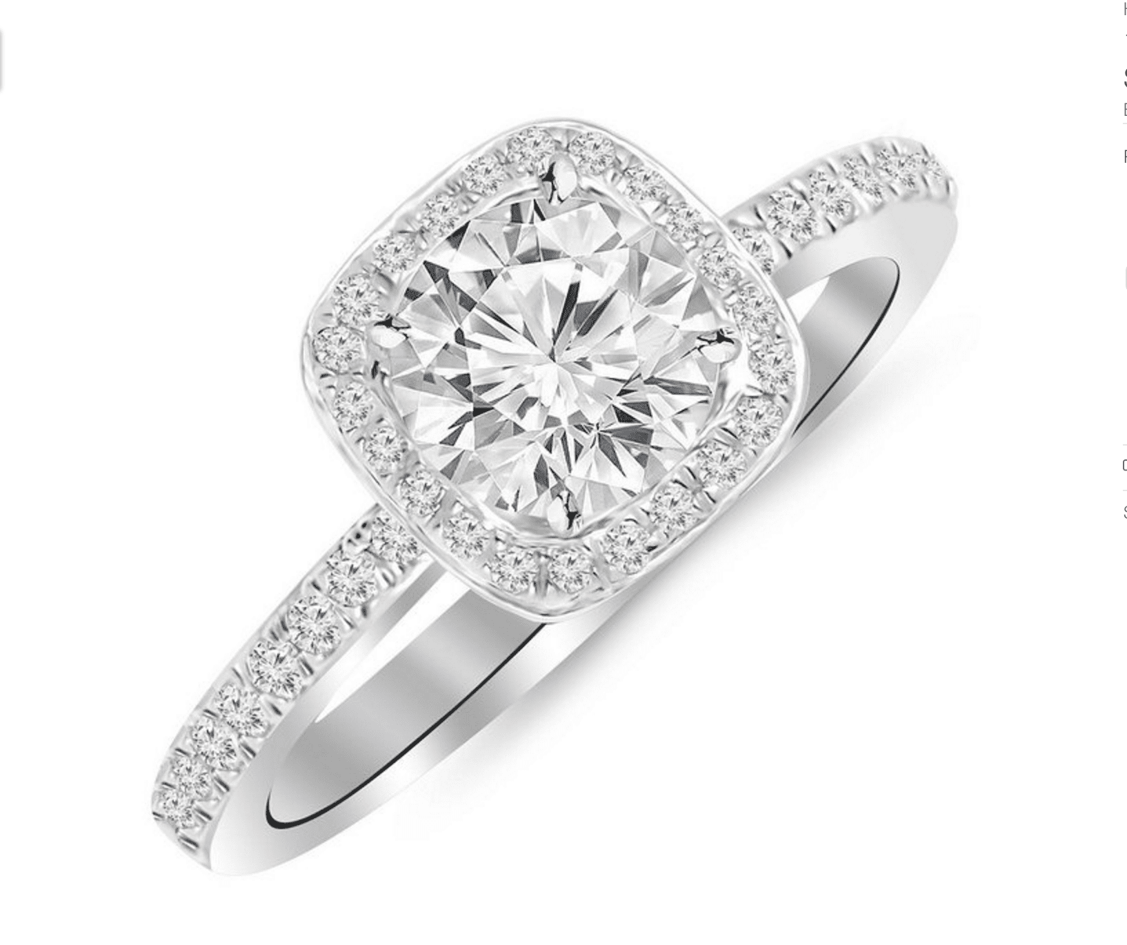 fake engagement rings to wear when you travel