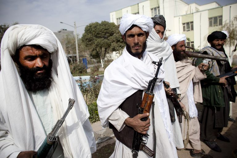 These men surrendered when Afghan president Hamid Karzai offered amnesty in 2010.