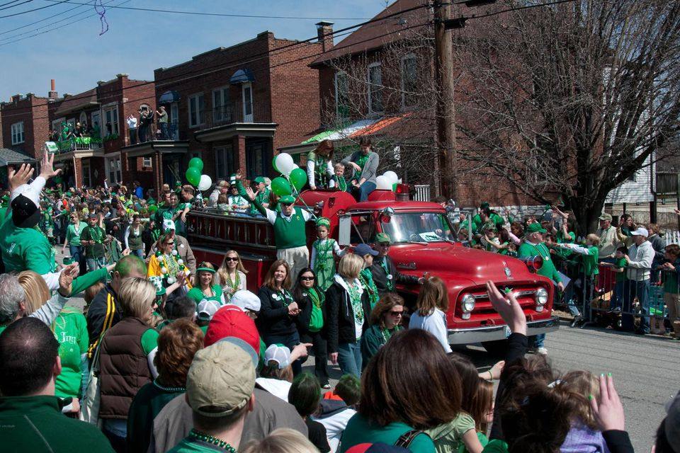 Dogtown St. Patrick's Day Parade, St. Louis