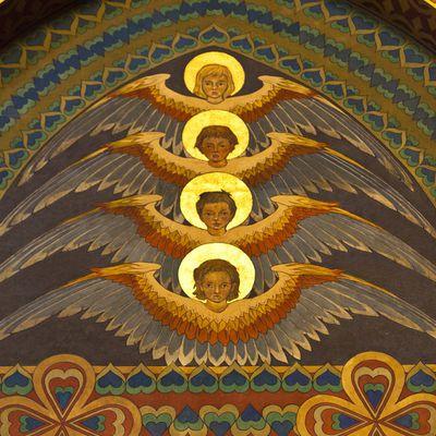 Archangel Zadkiel Angel Of Mercy Roles Symbols