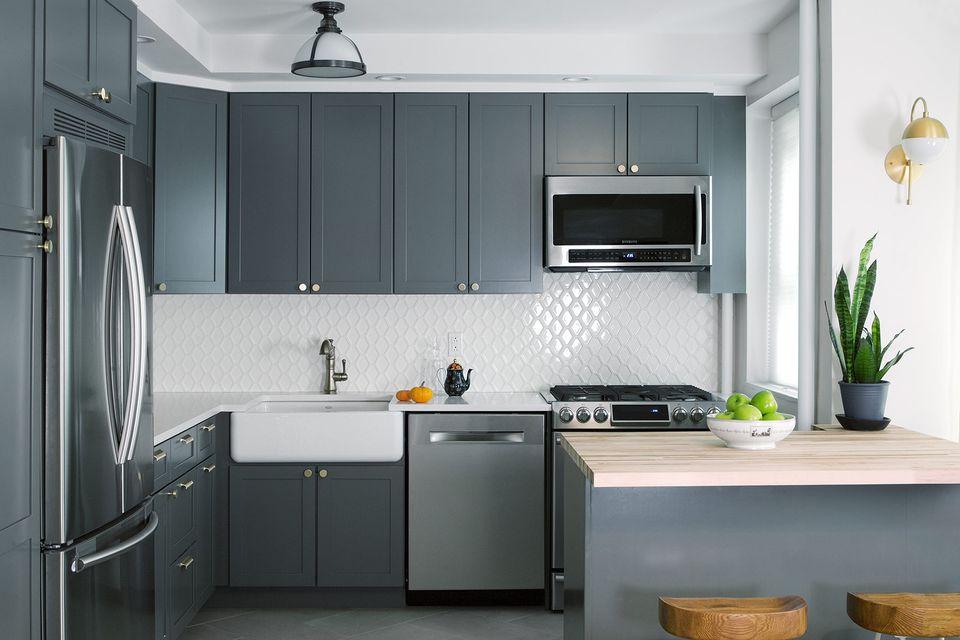 35 Fresh White Kitchen Cabinets Ideas To Brighten Your: Beautiful Blue Kitchen Design Ideas