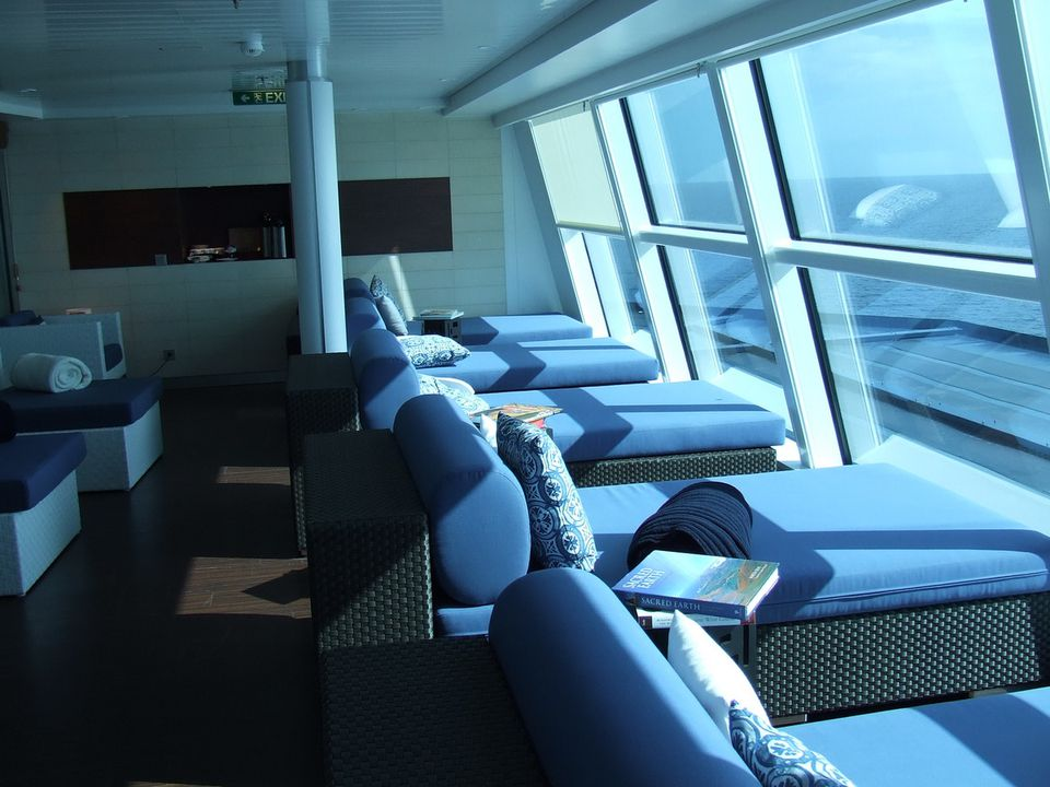 Relaxation room celebrity solstice ship