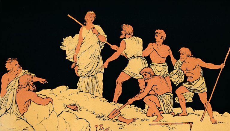 Antigone And The Body Of Polynices, 1880