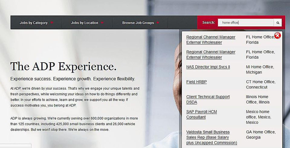 Automatic Data Processing - ADP Jobs -Work at Home