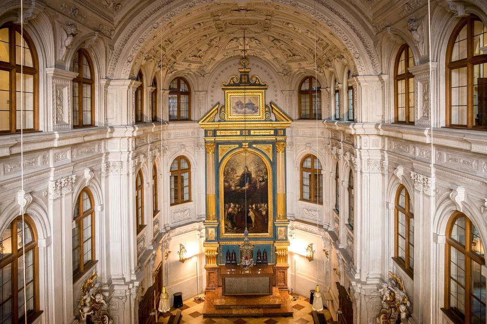 Interior of Court Chapel of Munich Residenz, Munich, Germany