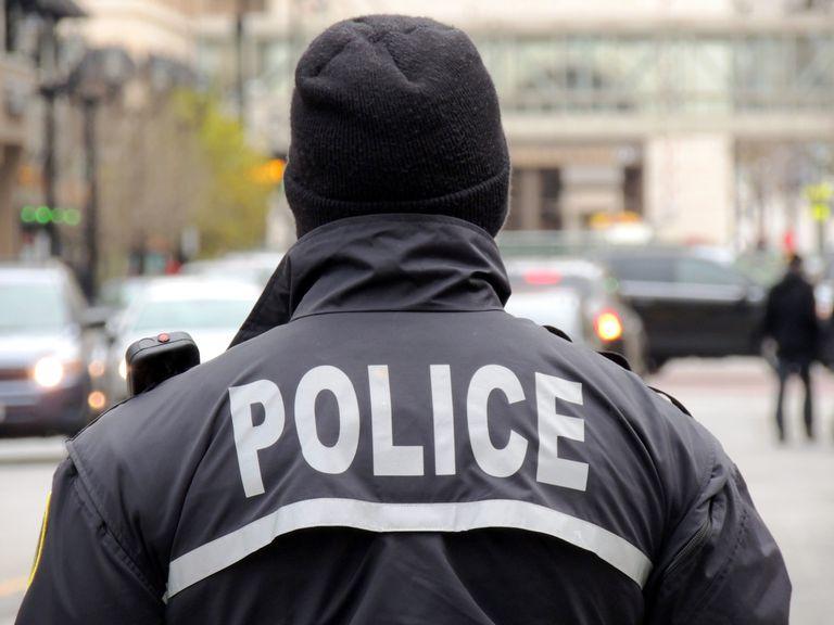 Imagen de un policía