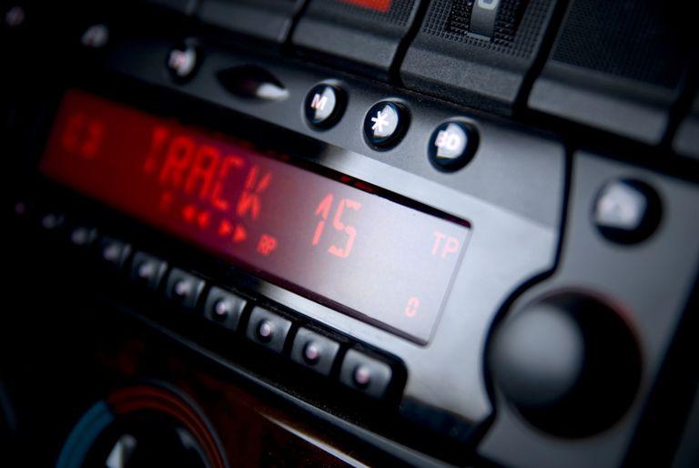 car radio on