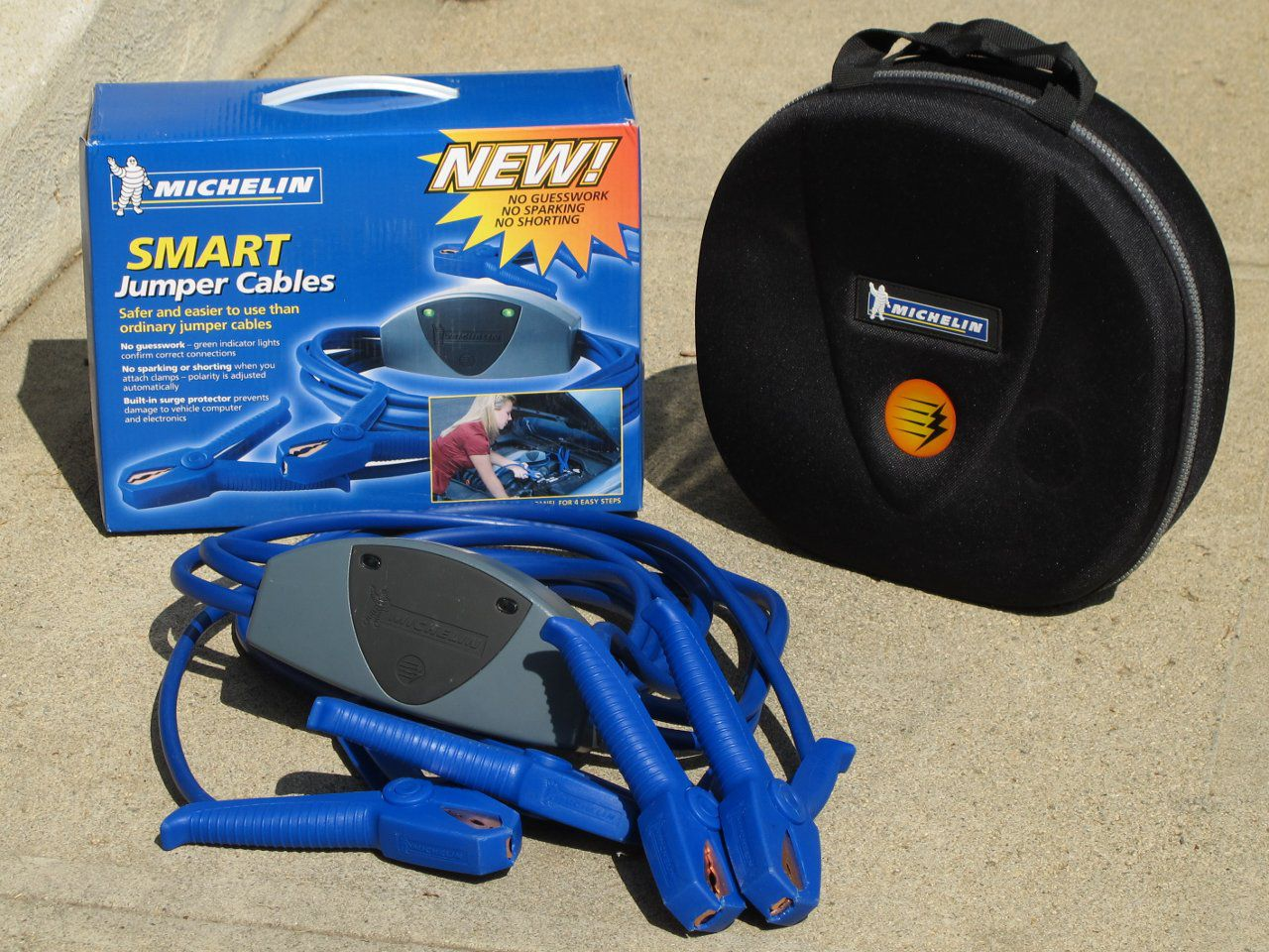 Michelin Smart Cables Jumper Cables Review