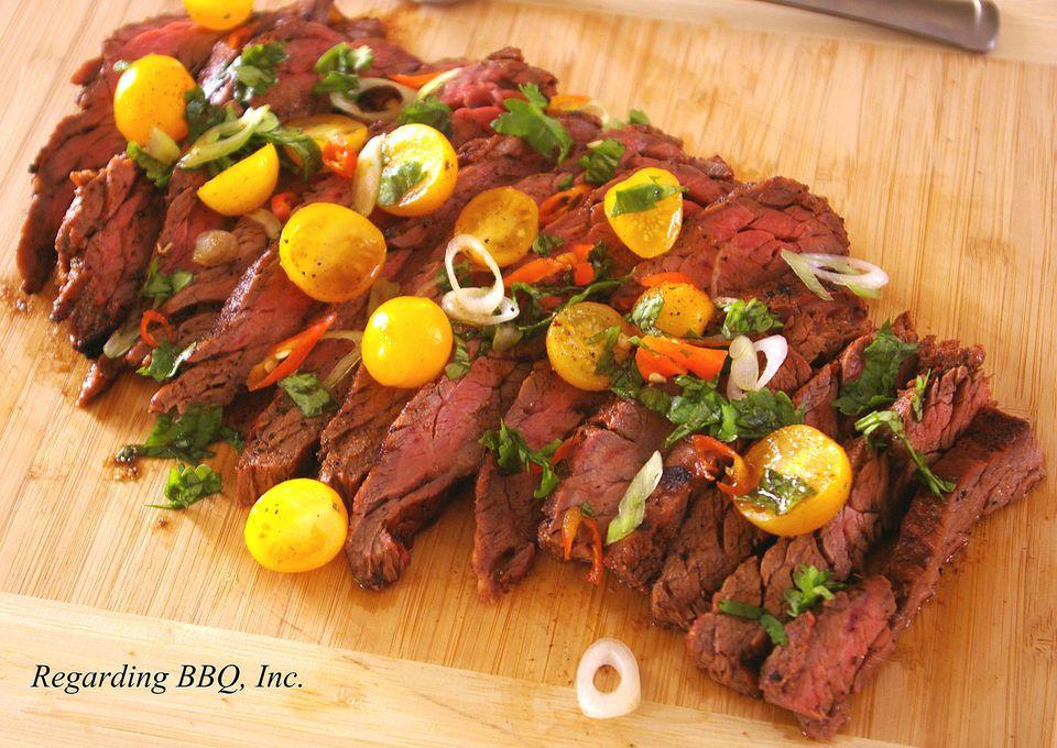 Cumin Marinated Steaks