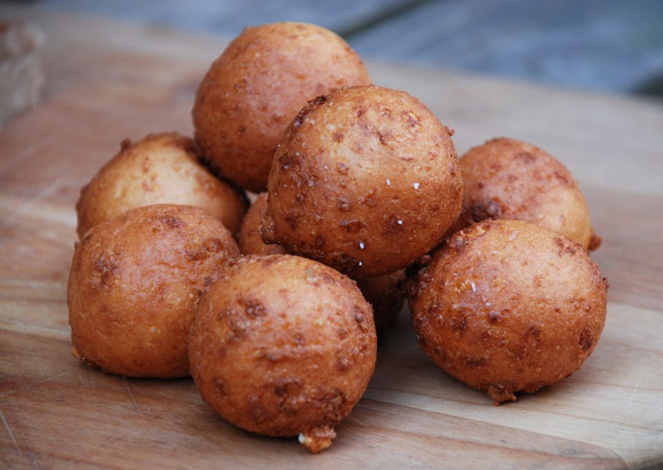 Sweet And Savory Colombian Christmas Cheese Fritters