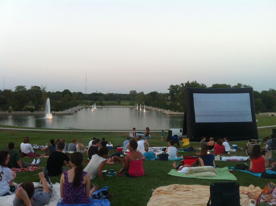 Outdoor Movies at Art Hill