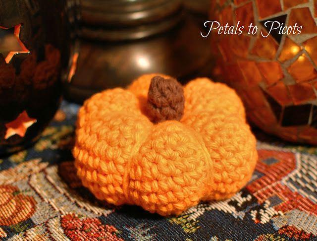 pumpkin crochet pattern