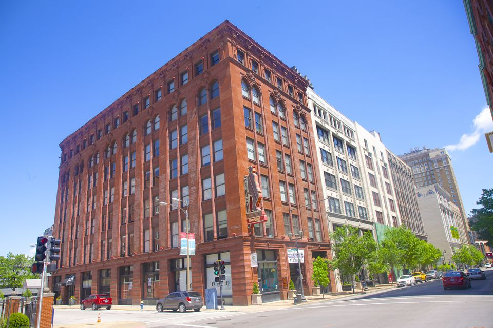 Loft buildings, Washington Avenue, St. Louis