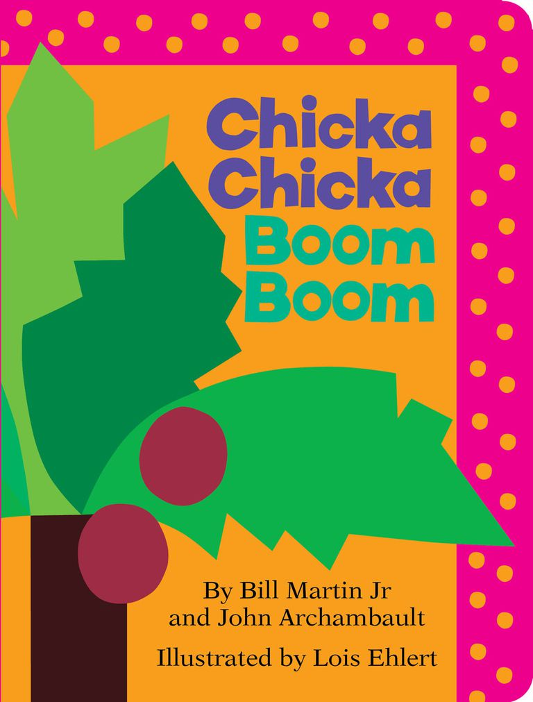 Chicka Chicka Boom Boom - alphabet book cover