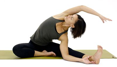 library of seated yoga poses