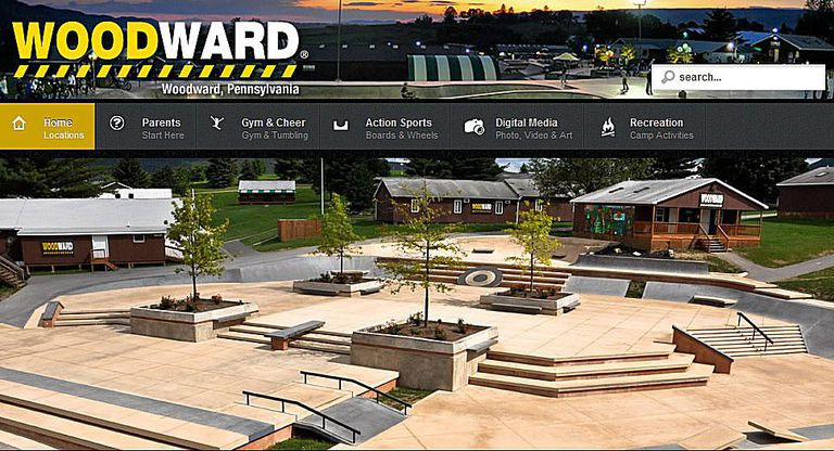 Skateboard Camps - Camp Woodward