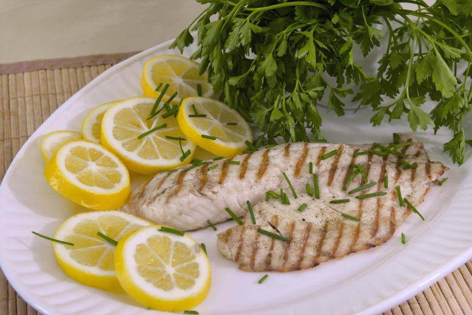 Tilapia and lemon