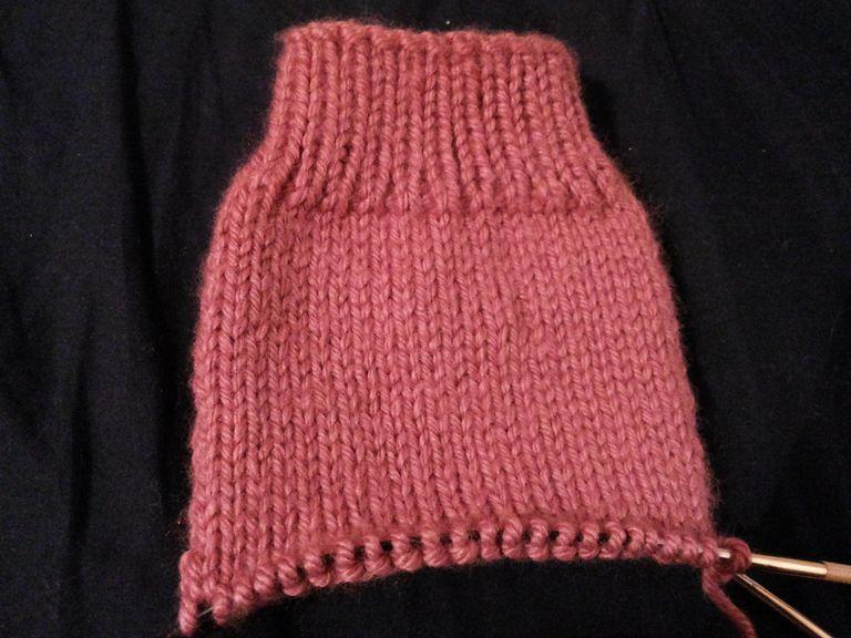 Descripción y materiales para tejer calcetines