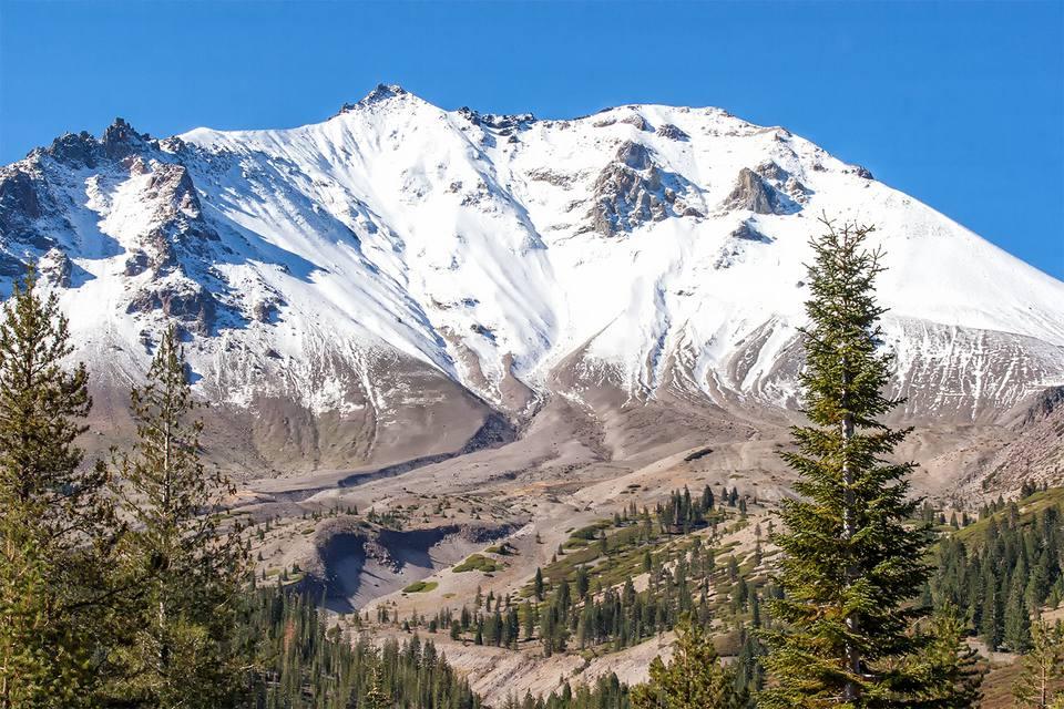 View of Mount Lassen