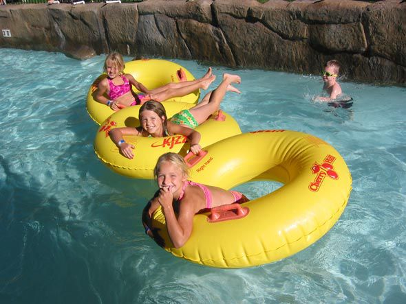lazy river at Cherry Hill